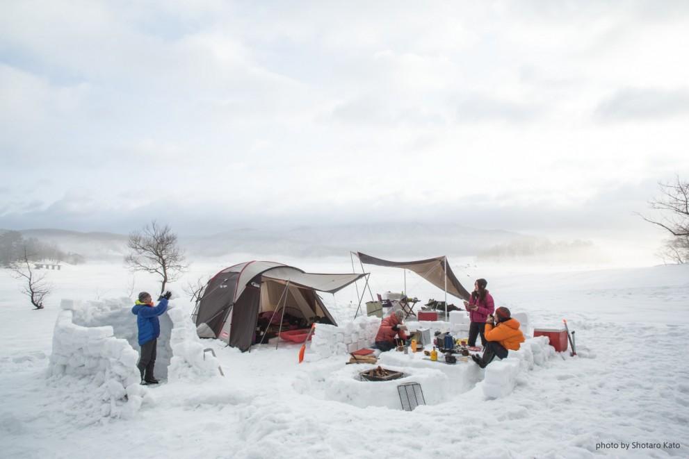 スノーキャンプに行こう!【Guddéi research冬号連動記事】
