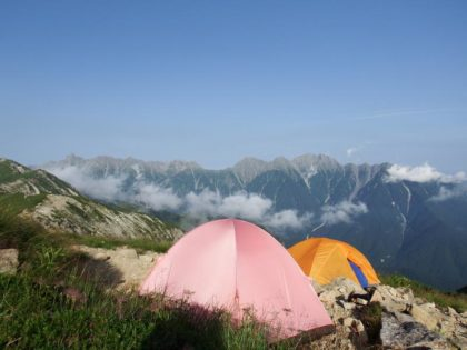 テント泊のためにテントの違いを知る 【山を楽しくするテクニック・アイテム】