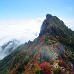 【四国 石鎚山】 紅葉の綺麗な山へ出かけよう!
