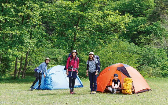おとな女子登山部が選んだ夏のテント泊ギア つじまいのテント選び