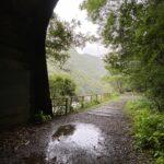 雨を楽しむ。~廃線跡でレイニーハイキング~