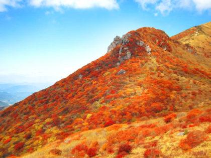 【九州 九重連山 大船山】 紅葉の綺麗な山へ出かけよう!