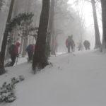 気圧配置で変わる!冬の低山の天気